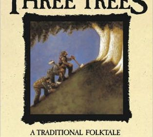 "Book Cover - ""The Tale of Three Trees"""