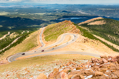 Winding Road in Colorado