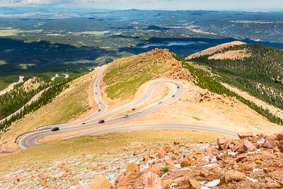 Winding Road in Colorado